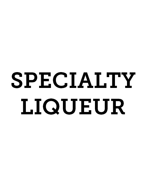 Specialty Liqueur