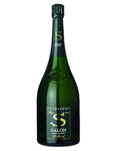 Salon Blanc de Blancs Le Mesnil-sur-Oger 2002 – Tiffany\'s Wine & Spirits