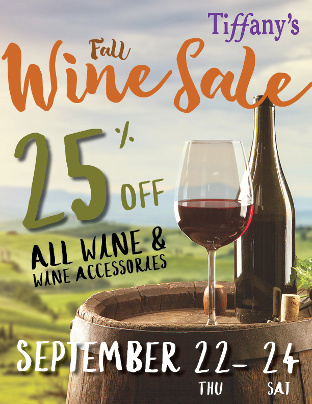 Fall Wine Sale