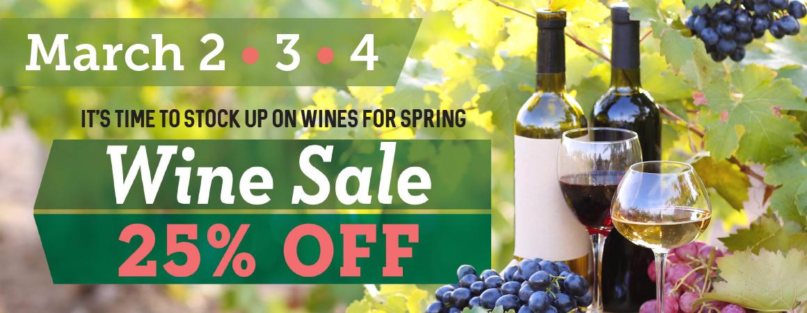 Wine Sale 0317